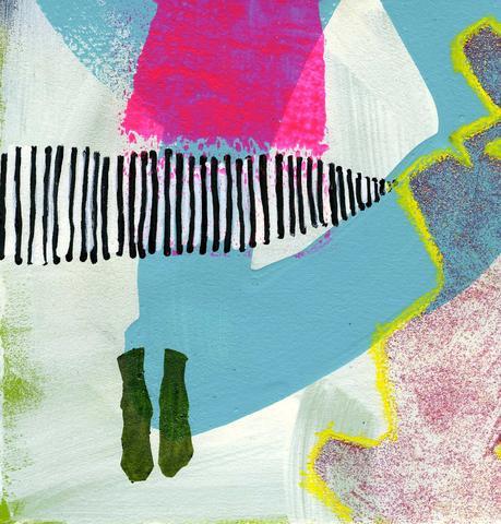 Discard Series Glitter feet